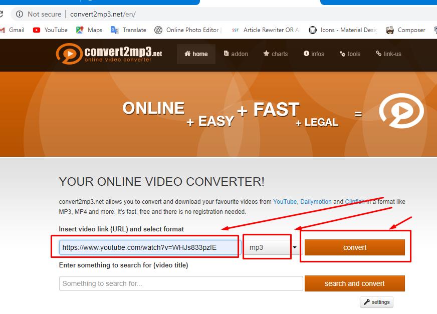 Cara Merubah Video Youtube Menjadi File MP3 atau Download
