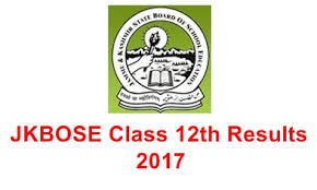 JK Board Inter 2nd Year Result 2017