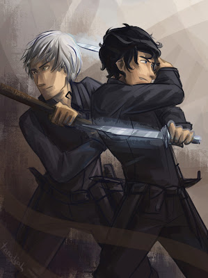 Fan art, James Carstairs, Will Herondale, Parabatai, Jem, Will, Cazadores de sombras, Príncipe mecánico, reseña, opinión, crítica, Cassandra Clare, Editorial Destino, Los orígenes, The infernal devices, Los artefactos infernales, segundo libro