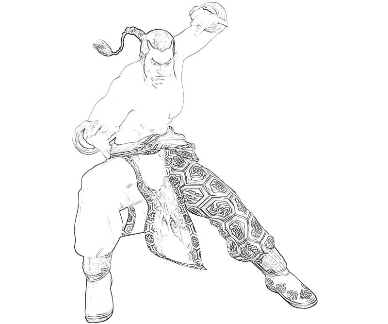Tekken 6 Coloring Pages Tekken 6 Coloring Pages Coloring Pages