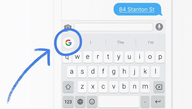 Google's great keyboard for IOS now release for Android only apk available currently