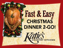 you enjoy christmas dinner at home
