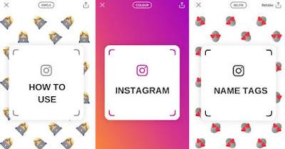 Pengunaan Fitur Scan Name Tag Instagram