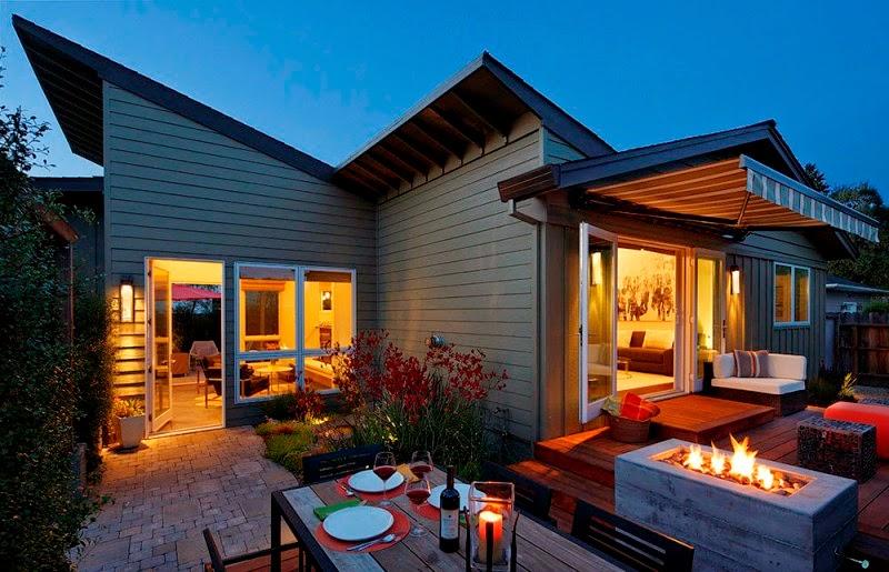 Hogares frescos encantadora casa de campo con un c lido - Detalles de decoracion para casa ...