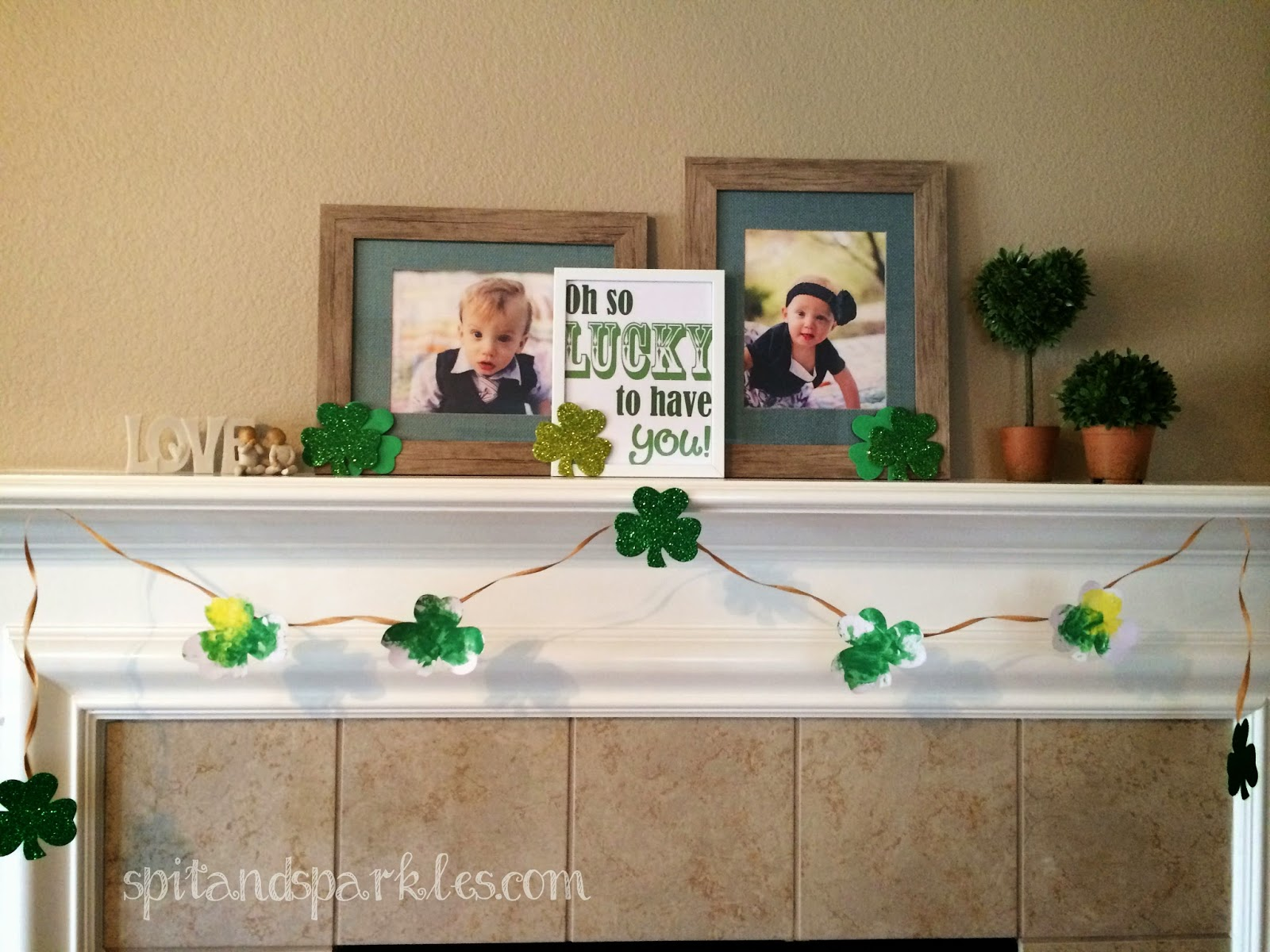Mess Free Toddler St Patrick S Day Art
