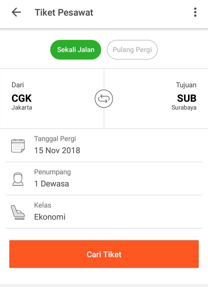 Mencoba Memesan Tiket Pesawat Di Tokopedia Rewrite Blog