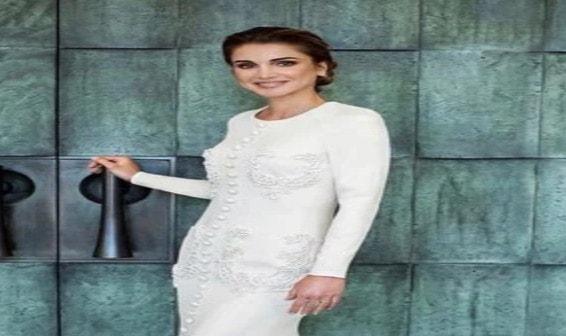 من هو المصمم محمد اشي،محمد اشي،الملكة رانيا،رانيا ملكة الاردن
