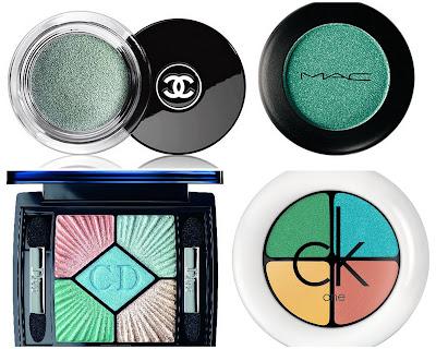 4e3335642 Para quem curte maquiagem com sombra verde: algumas imagens para inspirar: