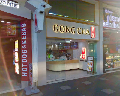 Gong Cha Paradise Centre front of Store