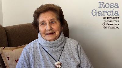 """Rosa García Rodríguez. Ex jornalera y costurera """"Soy mayor pero no vieja"""""""