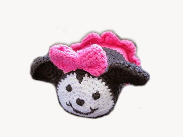 les tutos de fadinou tuto tsum tsum minnie au crochet. Black Bedroom Furniture Sets. Home Design Ideas