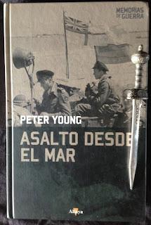 Portada del libro Asalto desde el mar, de Peter Young