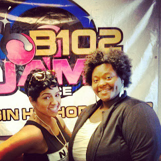 I had a chance to sit down a spill the tea with recording artis RaVaughn  she was a sweetheart. We talked career, fashion, and even love life.