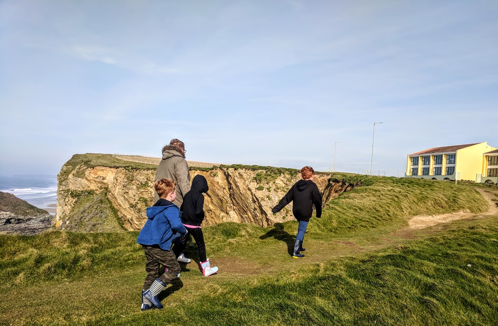 The Sands Resort Cornwall Review | A Family Hotel with Kids Club near Newquay  - coastal walk