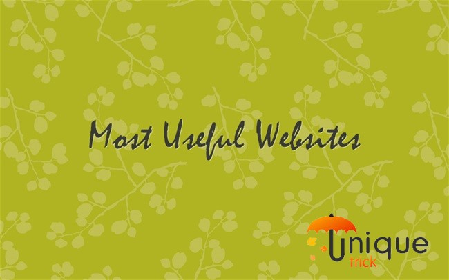 Most Useful Websiites