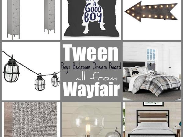 Tween Boys Bedroom Dream Board