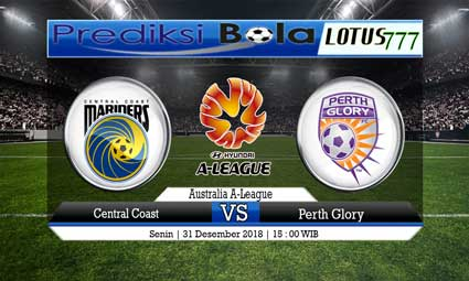 PREDIKSI CENTRAL COAST VS PERTH GLORY 31 DESEMBER 2018