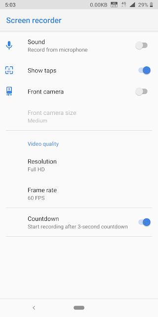 Screen recorder for Nokia phones