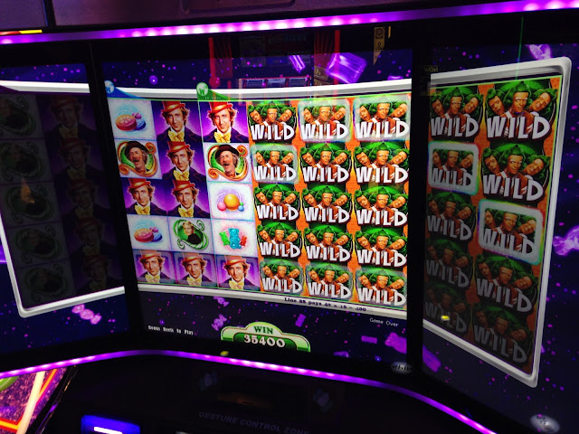 Willy Wonka Video Slot Win