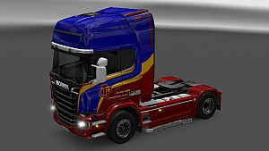 Transpanorama skin for Scania Streamline