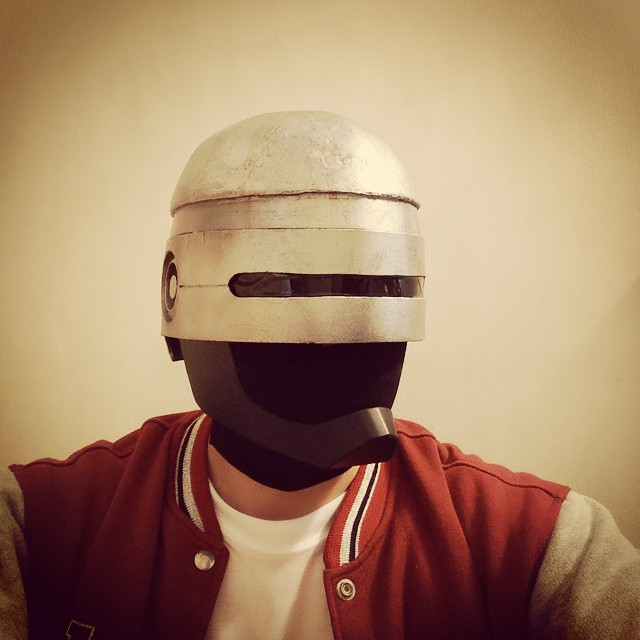 Dali Lomo Robocop Costume Helmet Diy Cardboard Template