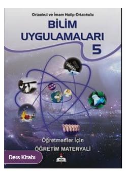 5. Sınıf Bilim Uygulamaları Meb Yayınları Ders Kitabı Cevapları
