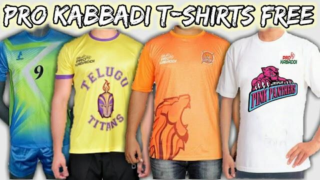 Free Kabaddi T-Shirt