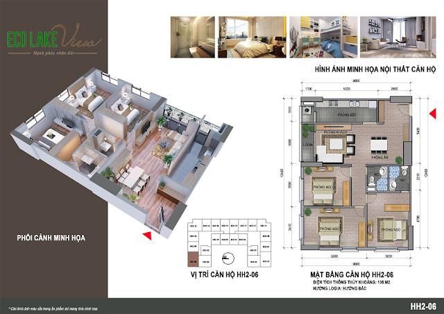 Thiết kế căn hộ HH-06