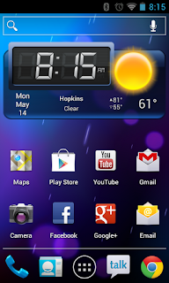 ICS Home Screen