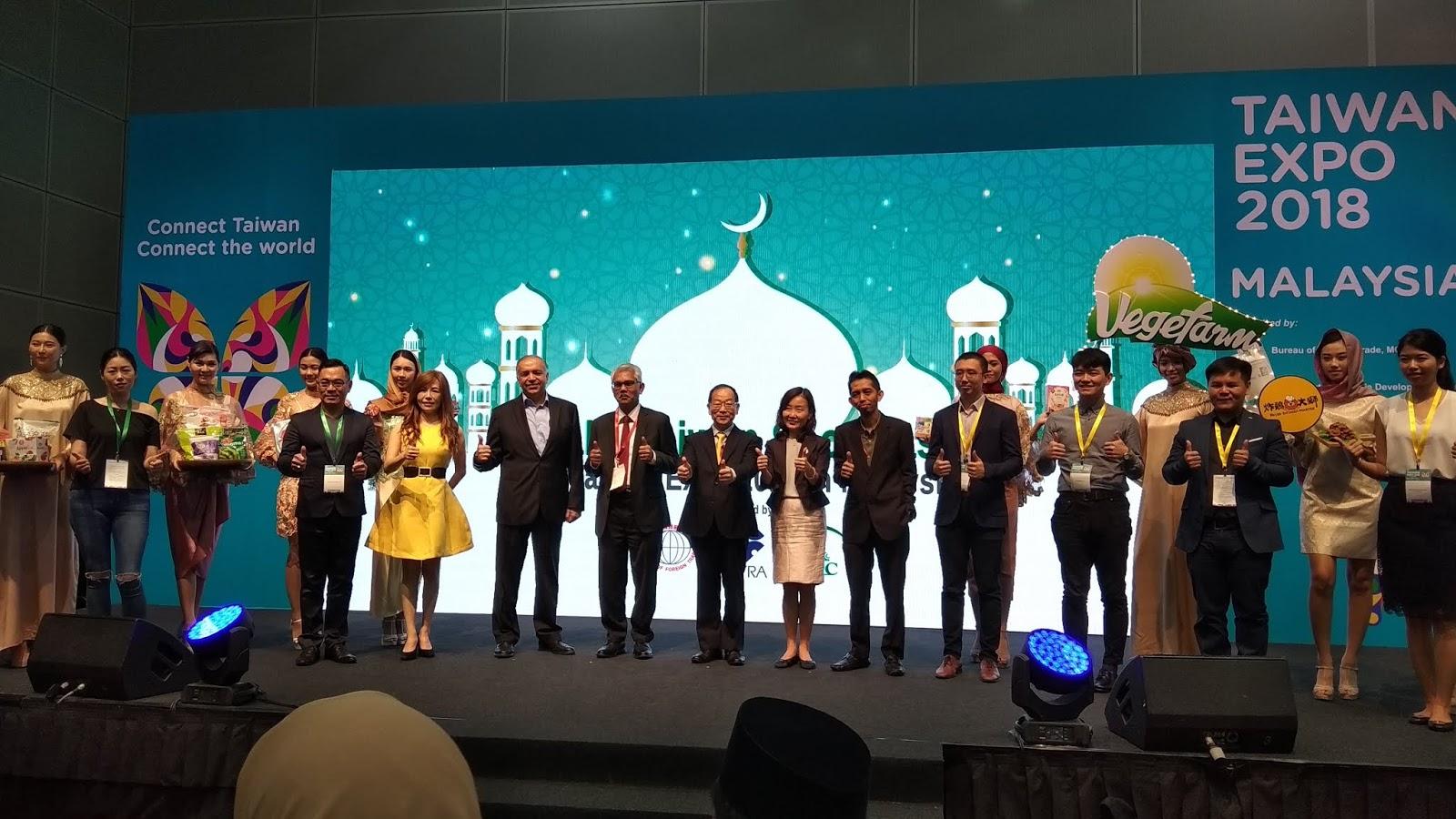 Taiwan Expo 2018 - Produk Halal Taiwan Kini Di Malaysia