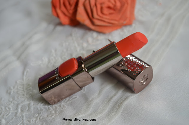L'Oreal Paris Color Riche Moist Matte Lipstick Orange Power Review