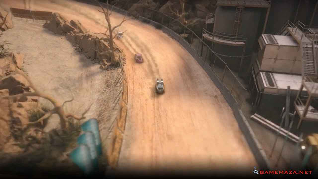 Mantis Burn Racing Gameplay Screenshot 1