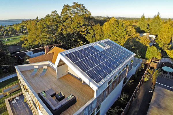 This Modern Environmentally Friendly House Design powered by Solar ...