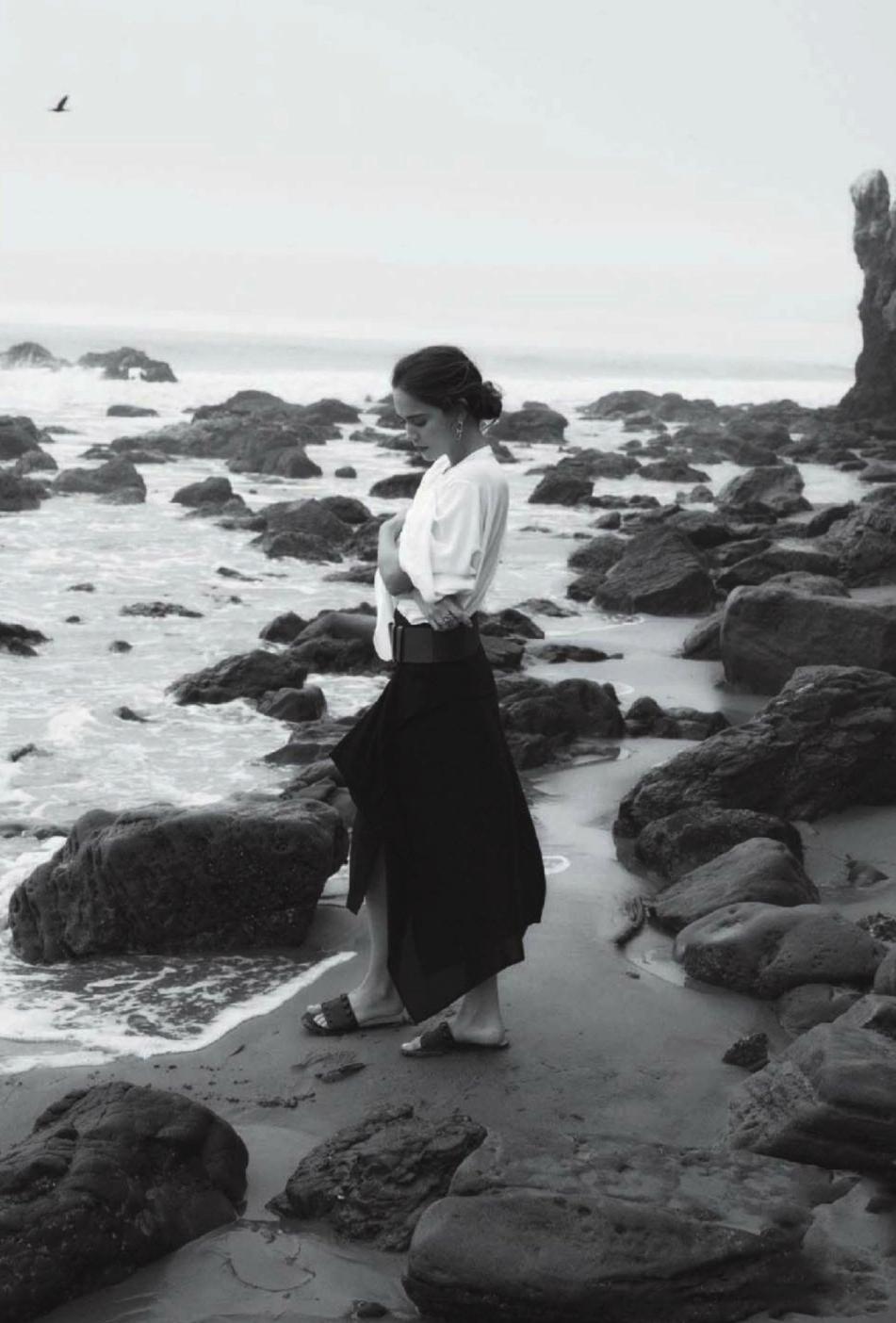 Matilda Lutz in Modern Romance / InStyle US April 2016 (photography: David Alfons Wilhelm Bornscheuer, styling: Ali Pew) via www.fashionedbylove.co.uk