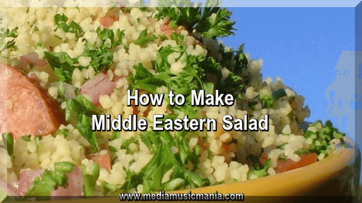 How to Make Middle Eastern Salad