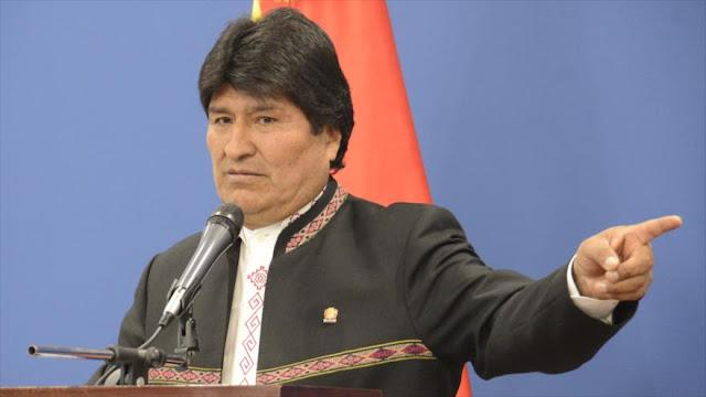 Evo Morales acusa a EEUU de violar la soberanía de Nicaragua