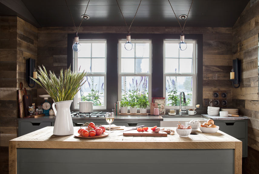 A life 39 s design country living house of the year for Country living kitchen designs