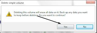Cara Menghapus Partisi Hardisk di Windows 7