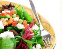 Salade de chèvre frais au melon