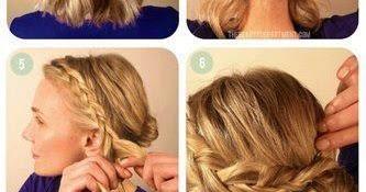peinados elegantes con trenzas peinados y cortes de cabello