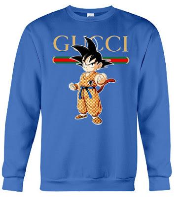 Goku Gucci Hoodie Sweatshirt