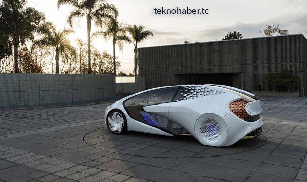 Toyota yui yapay zekalı otomobil