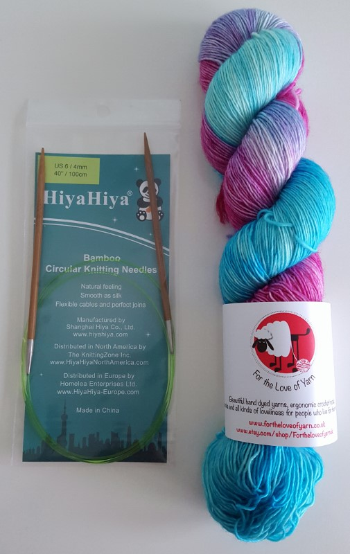 Knitting and stitching show at Alexandra Palace