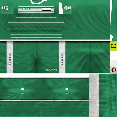 PES 6 Kits Iraq National Team Season 2018/2019 by WindowOp