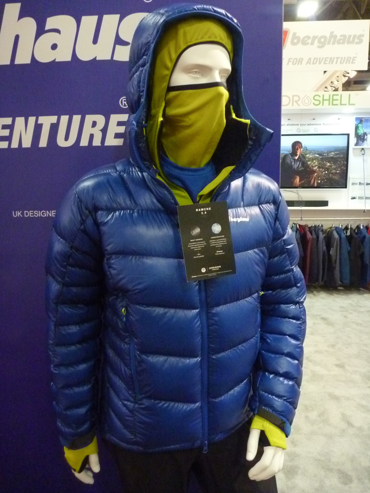 Berghaus Ramche 2.0 Down Parka. The Ramche 2.0 is as high-tech as a down  jacket gets. The insulation is body-mapped to add more down where warmth is  needed ... 9f980d38e