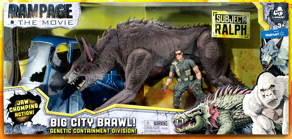 Idle Hands Toy Fair 2018 Lanard Shows Off Rampage Action Figures