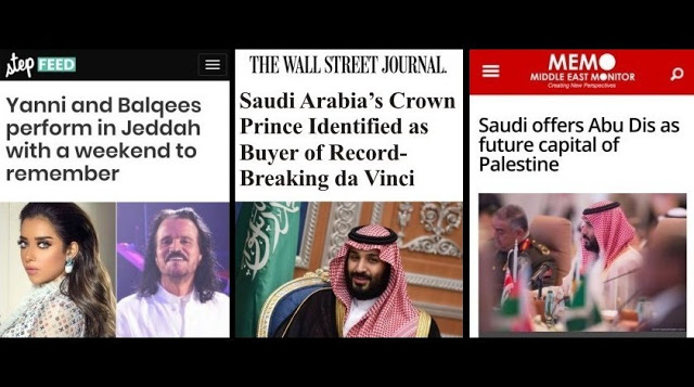 Saudi Menuju Sekulerasi? Setelah Konser Yanni, Lalu Muncul Abu Dis, dan Salvator Mundi