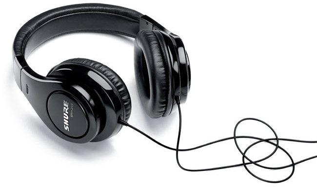 Shure SRH240A Professional Quality Headphones Giveaway!
