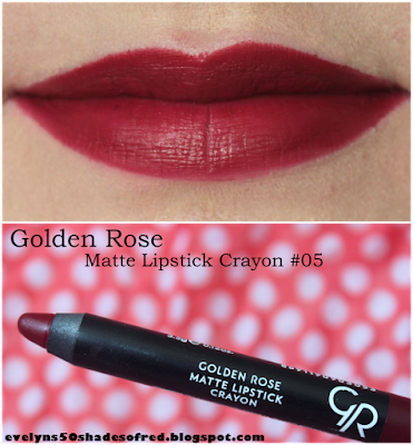 Golden Rose Matte Lipstick Crayon #05