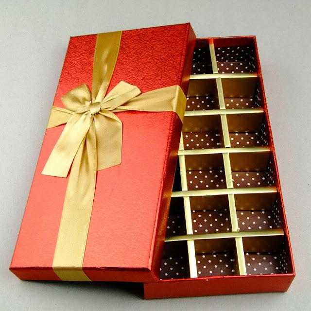 mẫu hộp chocolate